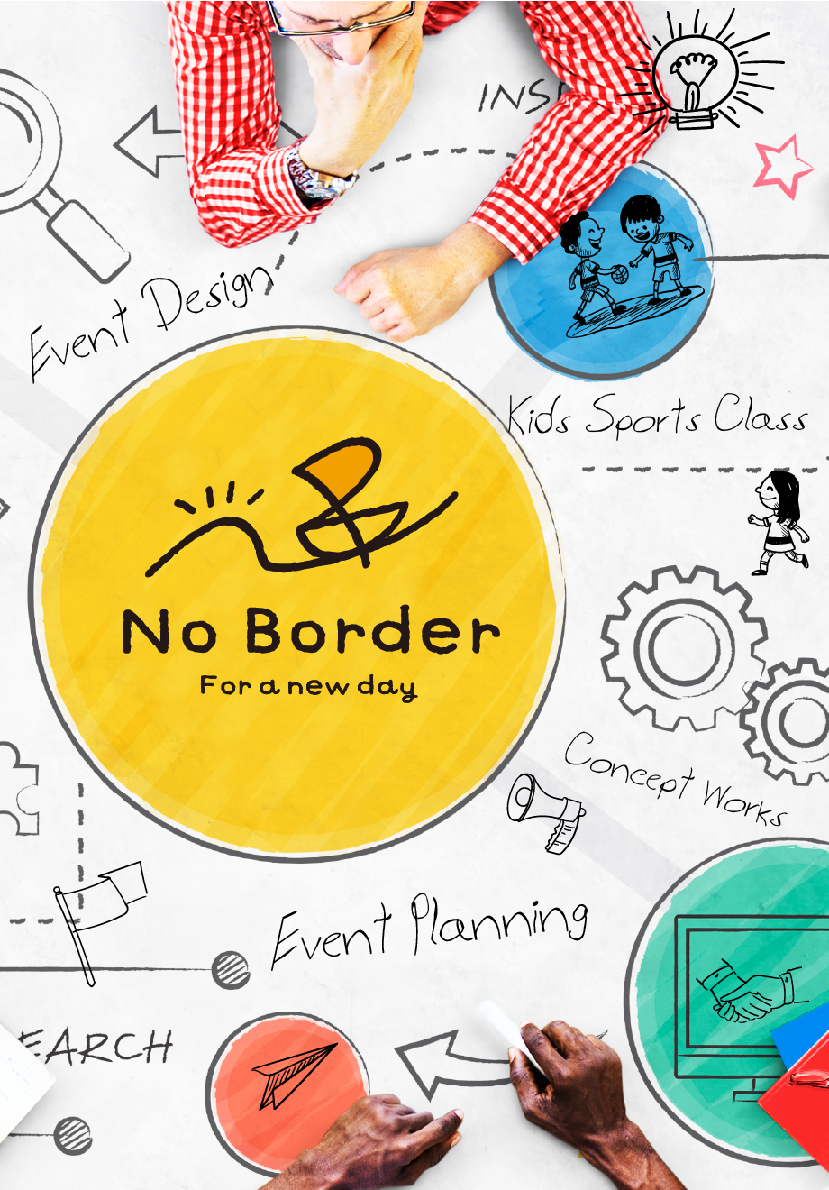 No Border for a new day